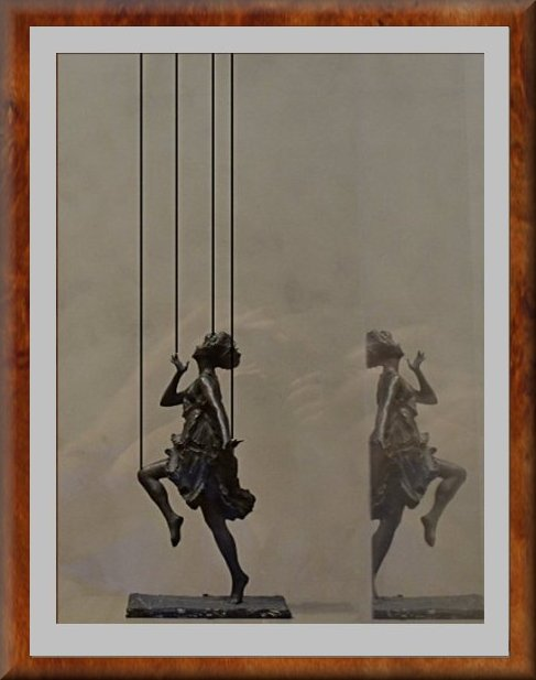 marionette on strings